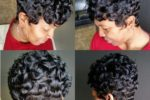 Finger Wave Style With Short Curls 3