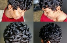 45 Finger Waves Hairstyles for Short Black Hair to Spice up the Strict Style for Your Hair 955f1f753b7662331c1629c236e84a09-235x150