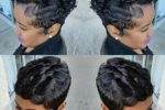 Finger Wave Style With Short Curls 4
