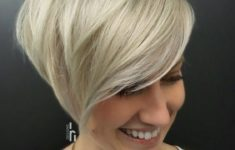 45 Short Hairstyles for Grey Hair and Glasses that Make Older Women Still Looking Stylish choppy_pixie_with_long_side_bangs_hairdo_3-235x150