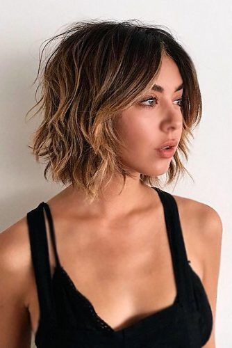 The Layered, Highlighted Bob Hairstyle 5