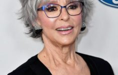 45 Short Hairstyles for Grey Hair and Glasses that Make Older Women Still Looking Stylish mature_short_layered_hairdo_older_women_4-235x150