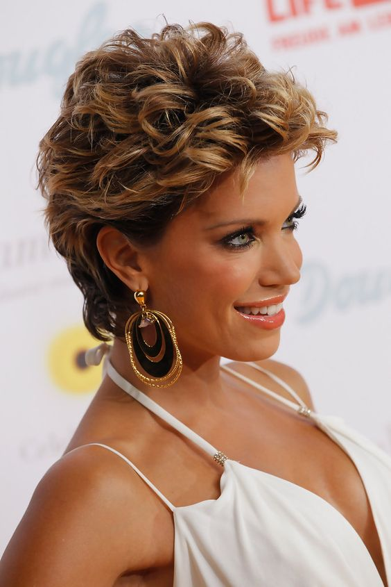 short curly haircuts for women over 50