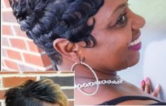 40 Short Haircuts for Older African American Women to Look Graceful and Beautiful 14ef2467cfa12d07b8ee5df998e996a7-235x150