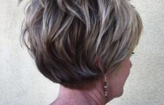50 Gorgeous Wedge Haircuts for Women over 60 That You Can't Miss 15-over-60-long-pixie-hairstyle-235x150