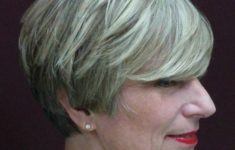 50 Gorgeous Wedge Haircuts for Women over 60 That You Can't Miss 18-short-gray-hairstyle-for-mature-women-1-235x150