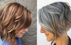 50 Gorgeous Wedge Haircuts for Women over 60 That You Can't Miss 2018-Haircuts-for-Older-women-Over-50-235x150