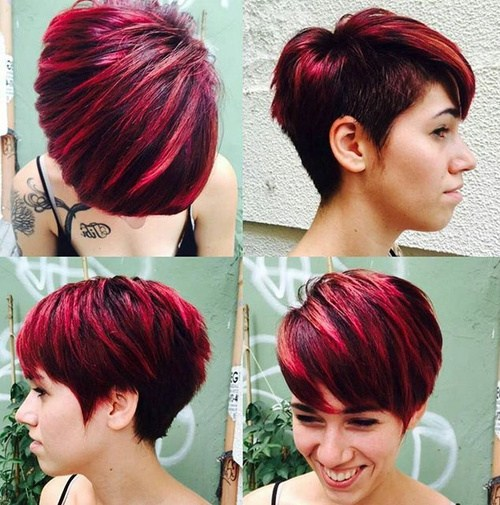 Maroon Ombre Wedge 1 24-short-choppy-haircut-with-side-undercut