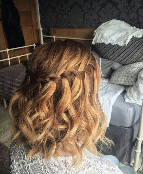 Classic Pinned Style with Braids 2