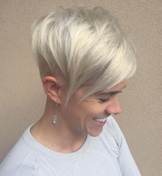 Stylish Pixie Do with Side Bangs 2