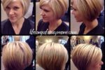Cool Short Stacked Bob Hairstyle 3