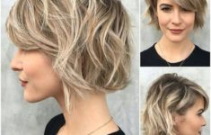 40 Stacked Hairstyles for Short Thin Hair Round Faces to Make You Look More Likeable 962501b77960a36f6bbab0fac35855e8-235x150