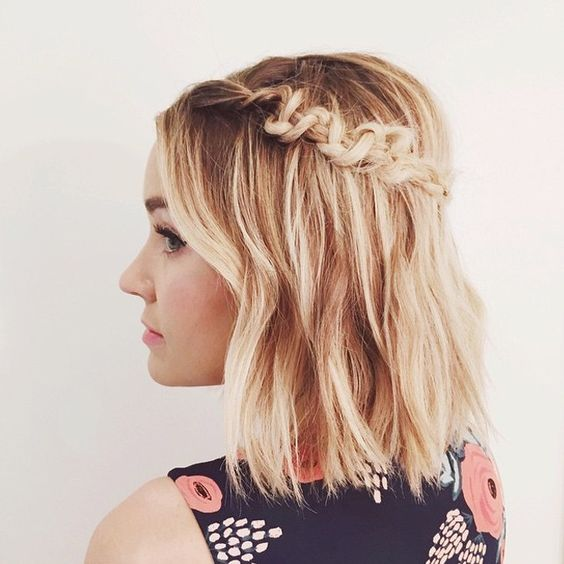 Classic Pinned Style with Braids 1