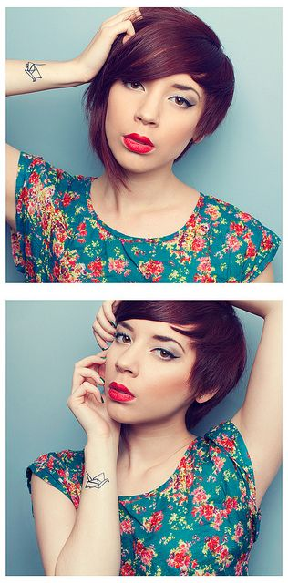 stacked hairstyles for short thick hair round faces 3