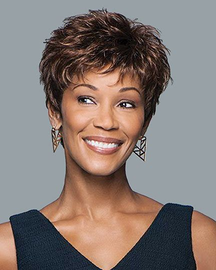 90 Gorgeous Short Curly Hairstyles for Women Over 50 (Updated 2021) Layered-haircuts-with-bangs