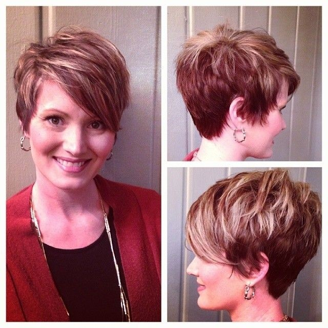 50 Beautiful Short Wedge Haircuts For Over 40 Women (Updated 2021) Short-Layered-Haircut-for-Women-over-40