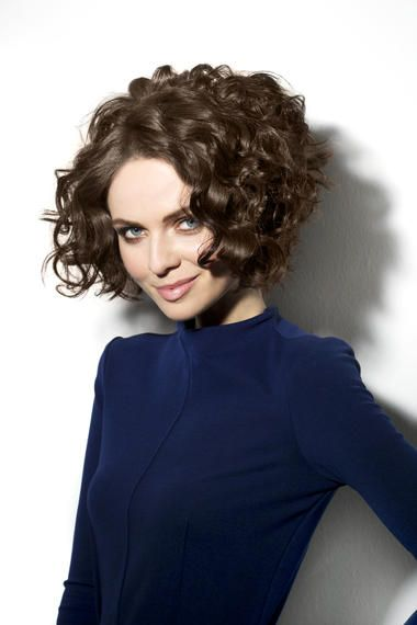 90 Gorgeous Short Curly Hairstyles for Women Over 50 (Updated 2021) Short-wedge-haircut