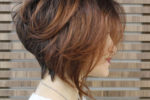 Wedge Bob Straight Short Hairstyle 5