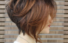 50 Beautiful Short Wedge Haircuts For Over 40 Women (Updated 2021) Stacked-Bob-Hairstyle-for-Ombre-Hair-235x150