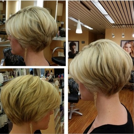 wedge haircuts for women over 40