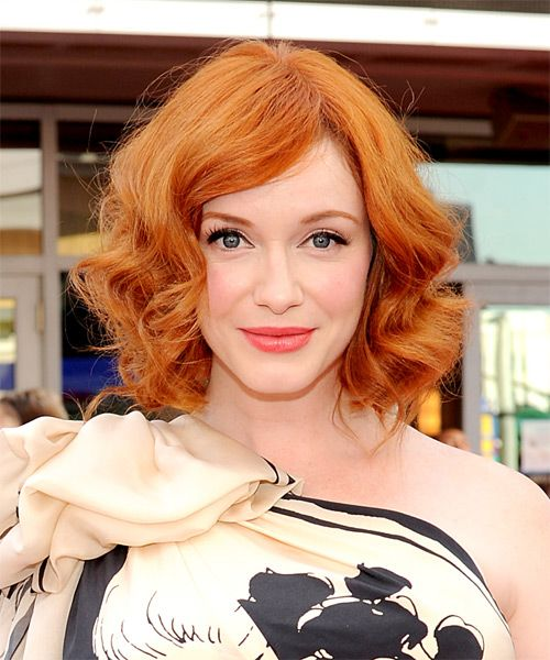Ginger Red Bob with High Layers 2