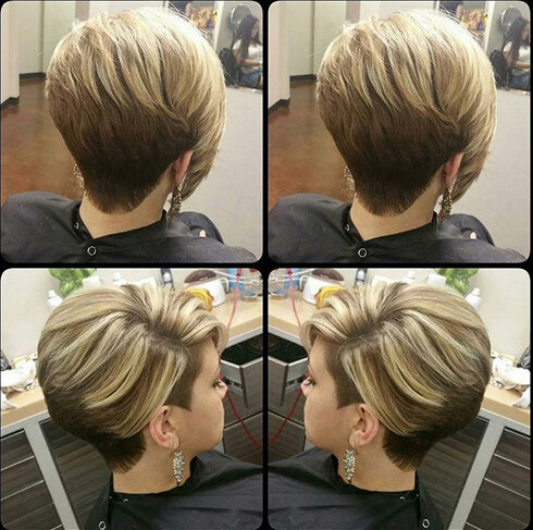 50 Beautiful Short Wedge Haircuts For Over 40 Women (Updated 2021) best-short-haircuts-2016-for-women-1