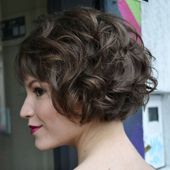 50 Most Gorgeous Short Curly Haircuts for Women over 50 c033becccc6426fca37ecc3d01c65180