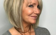 50 Gorgeous Wedge Haircuts for Women over 60 That You Can't Miss choppy-hairstyle-for-over-60-500x625-235x150