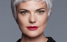 10 Prettiest Pixie Haircuts for Women over 60 cute_pixie_cut_older_women_grey_hair_wig_with_bangs-235x150