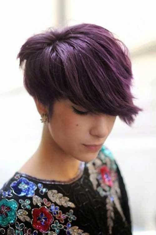 stacked hairstyles for short thick hair round faces 4