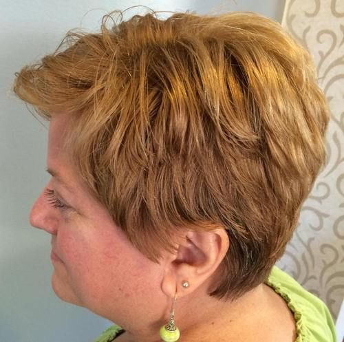 Short Choppy Layered Hair Style 5