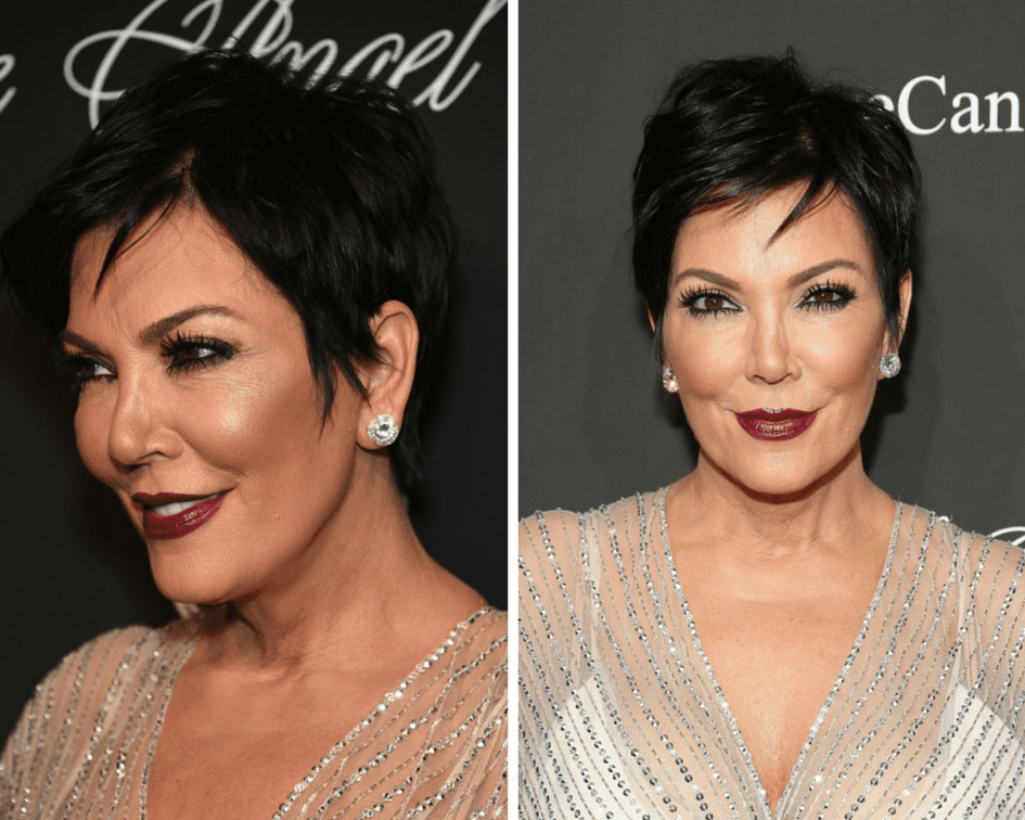 10 Prettiest Pixie Haircuts for Women over 60 kris-jenner-pixie-haircut-2-56a088485f9b58eba4b151b9