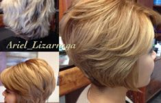 50 Beautiful Short Wedge Haircuts For Over 40 Women (Updated 2021) short-layered-hairstyles-for-thick-wavy-hair-1-235x150