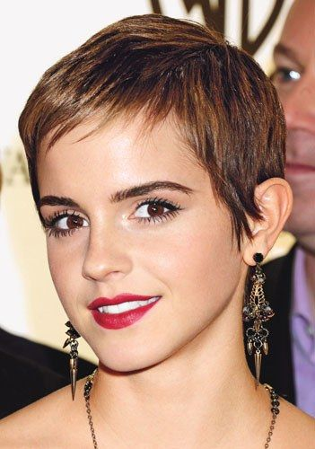 30 Inspiring Pixie Haircuts for Women Over 60 Years Old (Updated 2021) Emma-watson-pixie-haircut