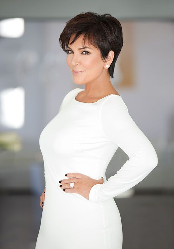 30 Inspiring Pixie Haircuts for Women Over 60 Years Old (Updated 2021) Kris-Jenner-pixie
