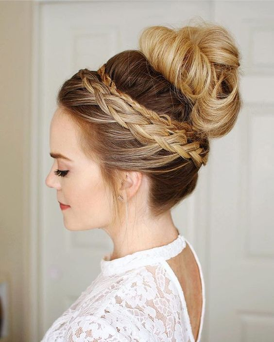 72 Most Beautiful Bridesmaid Hairstyles Ideas 01e51b2b910fee81b71efbe4e9c0e76b