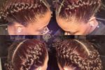 French And Rose Braid Up Do For African American Women 1
