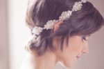 Pixie Cut With Beaded Headband For Wedding 3