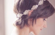 9 Most Beautiful Wedding Hairstyles for Short Hair 341ec585c7fabb4649f756a6845e9e51-235x150