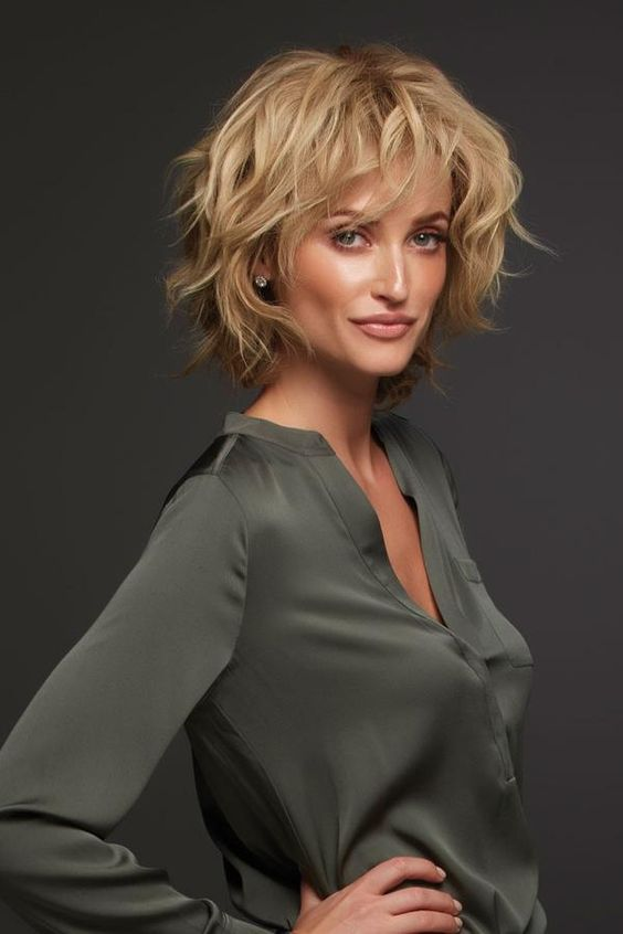 72 Best Short Hairstyles for Fine Hair over 50 Years Old 5456f4cd187bc0a501fb8eaae38ca459