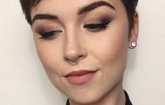19 Trendy Short Brown Hairstyles that You Need to Check 55b1bb3aebed2215c193b53115f97640-235x150