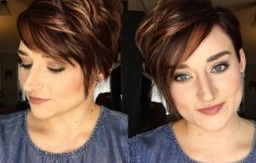 19 Trendy Short Brown Hairstyles that You Need to Check 5d0aebaad9b087aa44e244365c0598a9-235x150