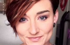 19 Trendy Short Brown Hairstyles that You Need to Check 86564cf77b3ee42a58384862ebf5384d-235x150