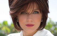 72 Best Short Hairstyles for Fine Hair over 50 Years Old 8ce5bd79d1f077e7c9c85082d30373b1-235x150