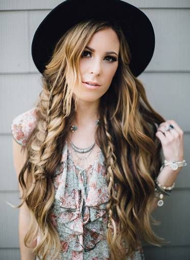 Boho Twis Hairstyle Easy Updos for Short Hair to do Yourself 1