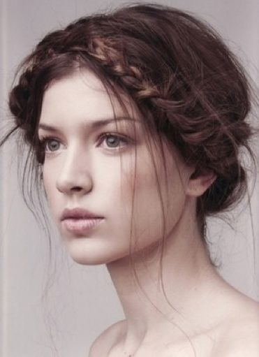 Boho Twis easy updos for short hair to do yourself 6