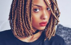 79 Most Inspiring Braids Hairstyle for Women Braided-Bob-with-Side-Fringes-Most-Inspiring-Braids-Hairstyle-for-Women-3-235x150