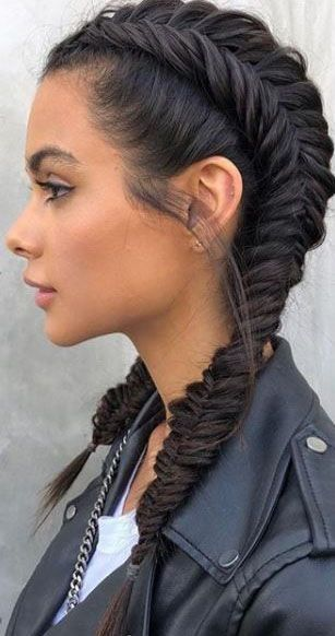 Braided Mohawk Easy Updos for Short Hair to do Yourself 2
