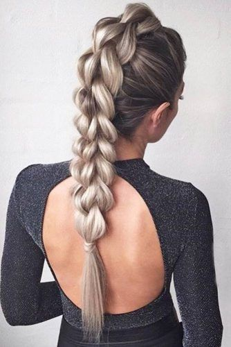 Braided Mohawk Easy Updos for Short Hair to do Yourself 4