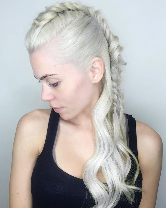 Braided Mohawk Easy Updos for Short Hair to do Yourself 6